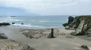 You Can Only See These One Of A Kind Sand Labyrinths In Oregon And They're Amazing
