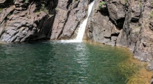 Most People Don't Know This Swimming Hole In Colorado Even Exists