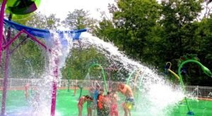 You'll Have A Roaring Good Time At This Dinosaur-Themed Splash Pad In Connecticut
