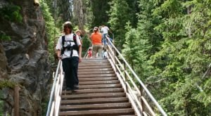This Stomach-Dropping Staircase Trail Needs To Be On Every Wyomingite's Bucket List