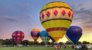 This Magical Hot Air Balloon Glow In Georgia Will Light Up Your Summer