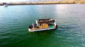 A Trip To This Floating Tiki Bar In Georgia Is The Ultimate Way To Spend A Summer's Day