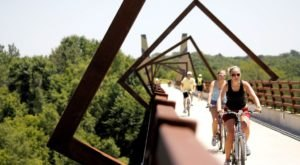 The Brand New Cross-Country Rail Trail That Winds Its Way Through Iowa