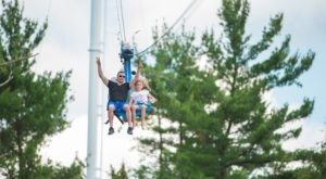 The Soaring Eagle Zipline Adventure Near Buffalo That Your Entire Family Will Love