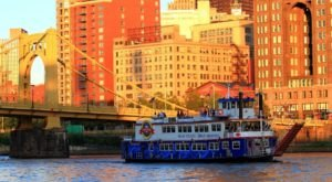 Hop Aboard This Dinner Boat In Pittsburgh Where Both The Views And The Food Are Spectacular