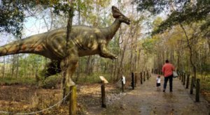 You Can Walk With Dinosaurs At This Prehistoric Park In Louisiana