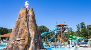 South Carolina's Newest Water Park Has A Volcano That Actually Erupts And You'll Love It