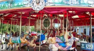One Of The Last Operating Wooden Carousels In The Nation Is Not Far From Cleveland