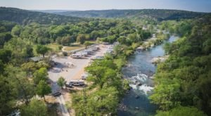 The River Campground Near Austin Where You'll Have An Unforgettable Tubing Adventure