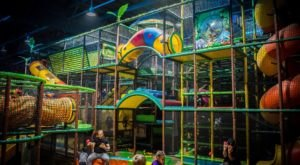 The Four-Story Indoor Playground In Northern California That Your Kids Will Absolutely Love