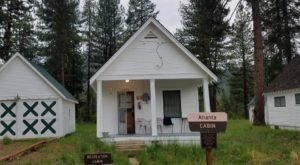 You Can Rent This Historic Cabin And Spend The Night In A Real Idaho Ghost Town