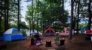 Your Whole Family Will Love This Secluded Waterfront Campground In Maine