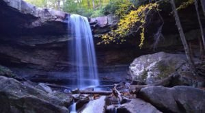 The Hike To This Pretty Little Waterfall Near Pittsburgh Is Short And Sweet