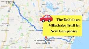 The New Hampshire Milkshake Trail That's Perfect For A Summer Day Trip