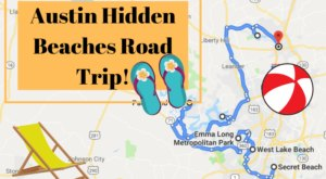 The Hidden Beaches Road Trip That Will Show You Austin Like Never Before