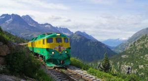 This All-Day Train Excursion In Alaska Will Take You To Canada And Back