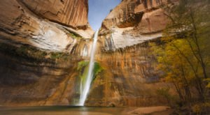 This Little-Known Waterfall In The U.S. Is One Of The Prettiest Places You'll Ever See
