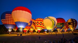 This Magical Hot Air Balloon Glow In South Carolina Will Light Up Your Night