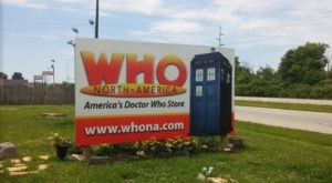 The Largest Doctor Who-Themed Store In The U.S. Is In Indiana And It's Practically A Tardis