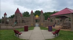 This Outstanding Outdoor Adventure In Indiana Is A Playground, Splash Pad, And Nature Trail All In One