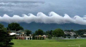Rare Wave-Like Cloud Formations Just Appeared Over Virginia And The Effect Is Mesmerizing