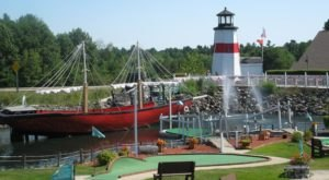 This Seashore-Themed Mini Golf Course In Maine Is Insanely Fun