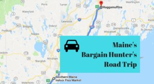 This Bargain Hunters Road Trip Will Take You To The Best Thrift Stores In Maine