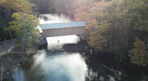 This Day Trip Takes You To 6 Of Maine's Covered Bridges And It's Perfect For A Scenic Drive