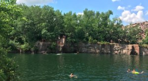 Minnesota's Most Refreshing Hike Will Lead You Straight To A Beautiful Swimming Hole