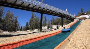 The Downhill Summer Tubing Adventure In Northern California That's Unlike Any Other