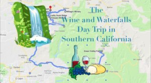 This Daytrip Will Take You To The Best Wine And Waterfalls In Southern California