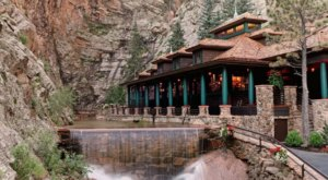 A Secluded Waterfall Eatery In Colorado, Restaurant 1858 Is One Of The Most Magical Places You'll Ever Eat