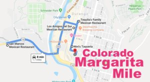 Drink Your Way Through Colorado On The Margarita Mile