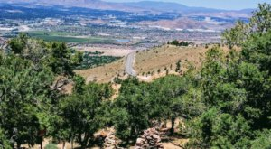 This 150-Year-Old Road In Nevada Takes You On A Twisting Journey To A Gorgeous Overlook