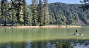 Idaho's Most Refreshing Hike Will Lead You Straight To A Beautiful Swimming Hole