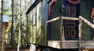 Spend A Mystical Night In This Colorful Gypsy Wagon In Vermont