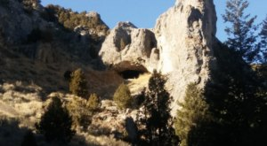 Hike To This Rocky Cave In Idaho For An Out-Of-This World Experience