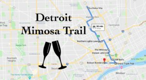 Rise And Shine With This Memorable Mimosa Trail In Detroit