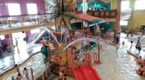 This 18,000-Square-Foot Indoor Waterpark In Michigan Will Transport You To A Tropical Paradise