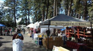 You Could Spend Hours At This Giant Outdoor Marketplace In Idaho