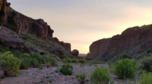 The Incredibly Breathtaking New Mexico Canyon That's Perfect For Natural Rock Climbing