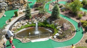 Most People Don't Know That New Hampshire Is Home To The Longest Mini Golf Hole In The World