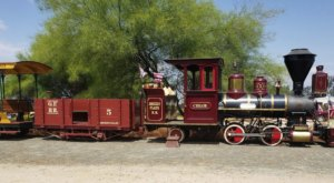 Take A Ride On The Rails At This Delightful Train Museum In Southern California