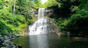 Most People Don't Know This Swimming Hole In Virginia Even Exists