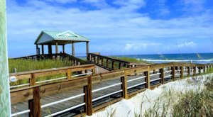 The Fairytale Seaside Boardwalk In North Carolina That Stretches As Far As The Eye Can See