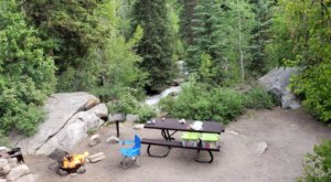 This Beautiful Utah Campground Is Just Minutes From Civilization But If Feels Like A Whole Other World