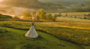 The Little-Known Tipi Getaway In New York That You'll Want To Cross Off Your Bucket List