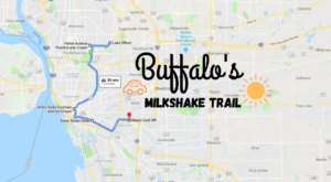 This Milkshake Trail Through Buffalo Is Perfect For A Summer Day Trip