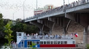 Watch Millions Of Bats Fill The Night Sky On This Sunset Riverboat Cruise In Texas