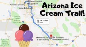 This Mouthwatering Ice Cream Trail In Arizona Is All You've Ever Dreamed Of And More